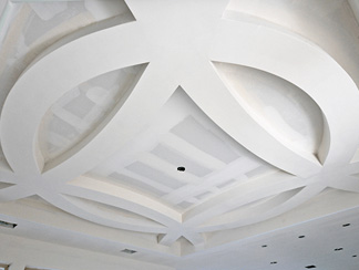 Ceiling and Partition Installers Arched Ceiling